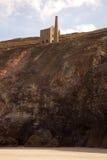 Mina de estanho Fotografia de Stock Royalty Free