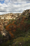 Mina de la montaña del hierro Fotos de archivo libres de regalías