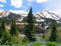 Mina de la muchacha del yanqui en Colorado foto de archivo libre de regalías