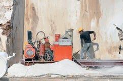 Mina de mármol industrial fotos de archivo