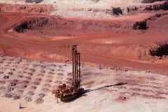 Mina de mineral de hierro Fotos de archivo