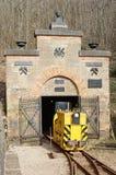 Mina de mineral de hierro histórico Fotos de archivo