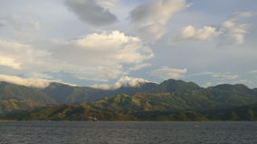 Mina de Oro. The beautiful mountains of Mindoro Island Stock Image