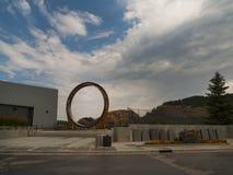 Mina de oro de Homestake, ventaja, Dakota del Sur Imagen de archivo
