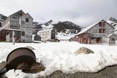 Mina de oro de la independencia en Alaska fotografía de archivo libre de regalías