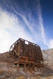 Mina de oro de las colinas de la tiza Fotos de archivo libres de regalías