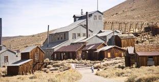 Mina de oro del pueblo fantasma Imagen de archivo libre de regalías