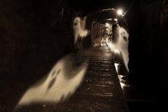 Mina de oro fantasmagórica Fotografía de archivo libre de regalías