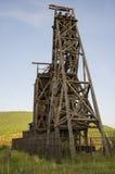 Mina de oro histórica en el vencedor Colorado fotos de archivo