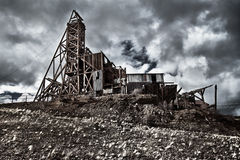 Mina de oro viejo en Colorado Fotos de archivo libres de regalías
