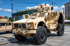 Mina de Oshkosh M-ATV resistente Foto de Stock