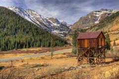 Mina de ouro abandonada Imagem de Stock