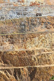 Mina de ouro - aberta - molde 4 imagens de stock royalty free