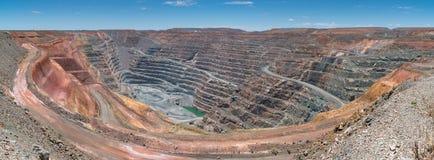 Mina de ouro, Karlgoorlie, Austrália Ocidental imagem de stock
