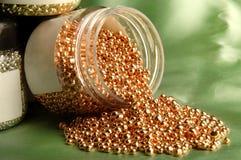 Mina de ouro que endurece o produto fotografia de stock