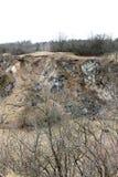 Mina de piedra vieja Foto de archivo