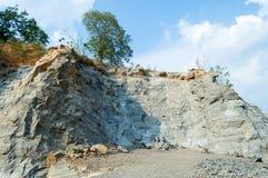 Mina de roca Fotografía de archivo