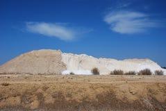 Mina de sal. Fotos de archivo libres de regalías