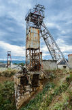 Mina de sal abandonada Fotos de archivo