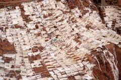 Mina de sal de Maras imagen de archivo libre de regalías
