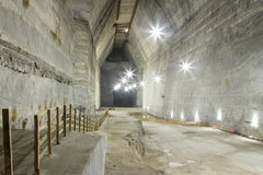 Mina de sal de Slanic - Unirea Fotografia de Stock
