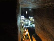 Mina de sal de Turda romania Imagem de Stock Royalty Free