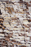 Mina de sal Peru de Maras Imagem de Stock