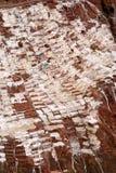 Mina de sal peruana imagenes de archivo