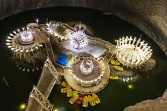 Mina de sal Salina Turda em Romênia Fotos de Stock