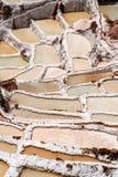 Mina de sal tradicional imágenes de archivo libres de regalías
