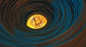 mina del bitcoin fotos de archivo libres de regalías