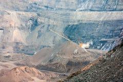 Mina del carbón Imagen de archivo libre de regalías