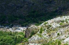 Mina del granito Fotografía de archivo libre de regalías