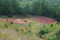 Mina del hierro de Maramec foto de archivo
