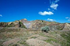 Mina del hoyo de piedra Fotos de archivo libres de regalías