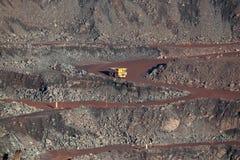 Mina del mineral de hierro Imagen de archivo libre de regalías