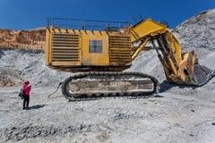Mina do tanoeiro - poço aberto 7 Imagens de Stock