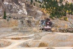 Mina en Colorado Imágenes de archivo libres de regalías