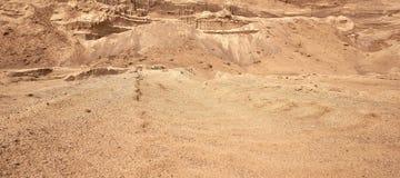 Mina industrial de la arena El desarrollo del hoyo de arena Sector de la construcci?n fotografía de archivo libre de regalías