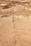 Mina industrial de la arena El desarrollo del hoyo de arena Sector de la construcci?n fotografía de archivo