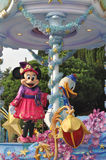 Mina mysz i Donald kaczka Zdjęcie Stock