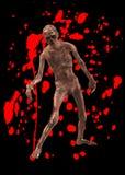 Minaccia delle zombie Immagine Stock