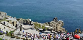 Minack Open-air Theatre, Cornwall. Royalty Free Stock Photo
