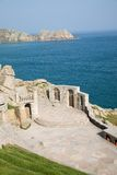 Minack theatre in Cornwall Royalty Free Stock Photos