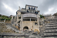 Minacktheater - Cornwall Royalty-vrije Stock Fotografie