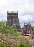 Minakshi hindu temple Stock Images