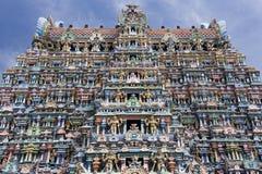Minakshi Sundareshvara hinduiskt tempel - Indien Royaltyfri Bild