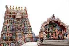 Minakshi Sundareshvara Tempel - Madurai - Indien Stockbilder