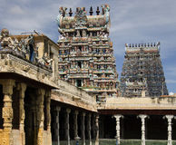 Minakshi Temple - Madurai - Tamil Nadu - India Stock Photography