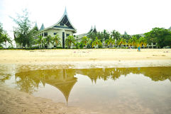 Minangkabau大厦手段 图库摄影